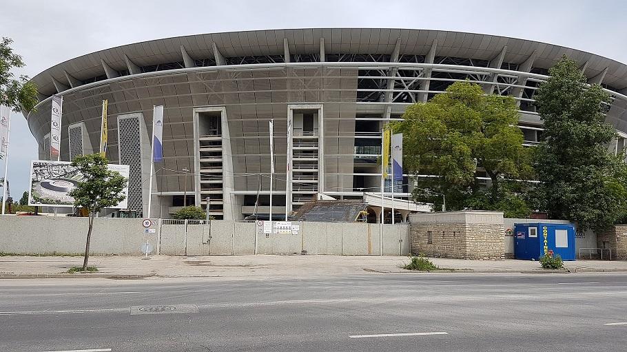 Puskas Ferenc stadion i Budapest