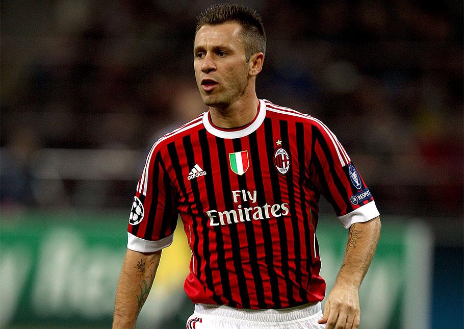 Antonio cassano ac milan