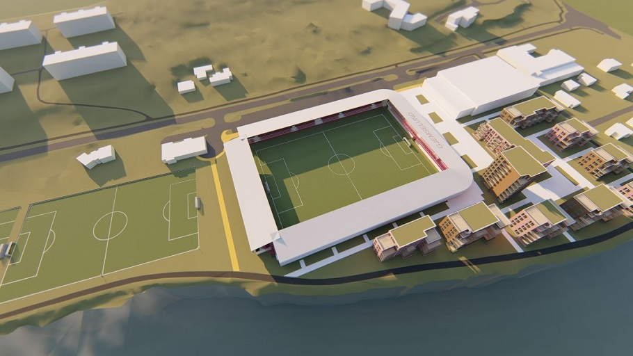 Nye gjemselund stadion