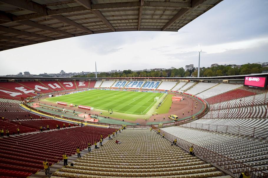 Red Star Belgarde Rajko Mitic stadion