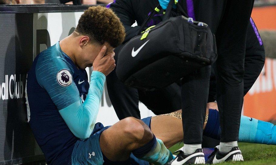 Dele Alli skadet Tottenham
