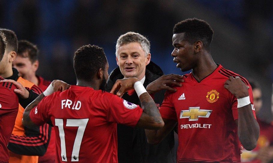 Ole Gunnar Solskjær Paul Pogba Manchester United