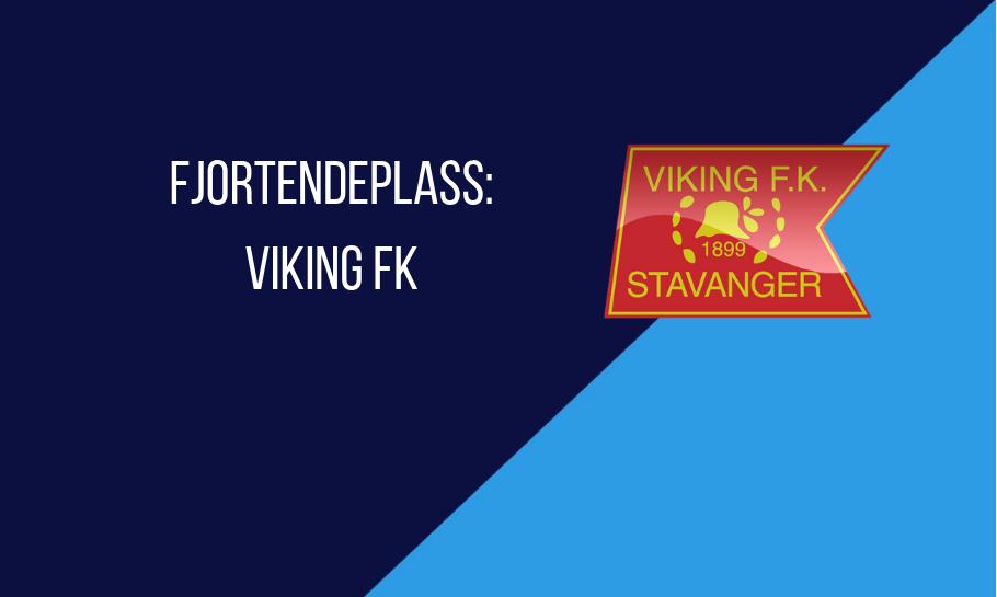 Eliteserien tabelltips 2019 Viking fjortendeplass