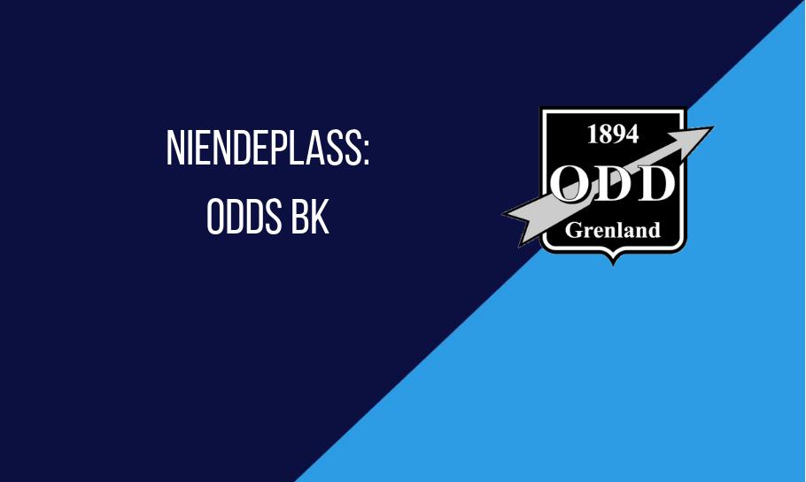 Niendeplass Odd Tabelltips Eliteserien 2019