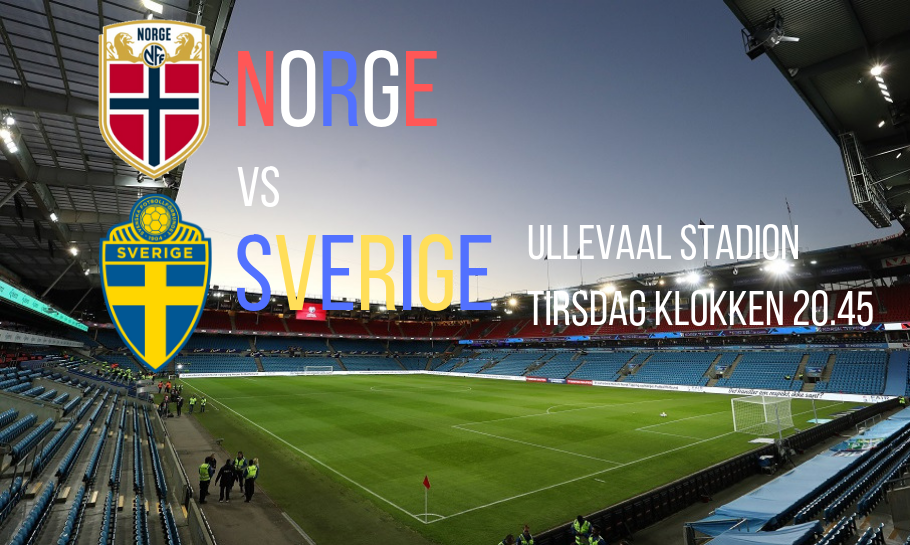 Norge Sverige spilltips live stream