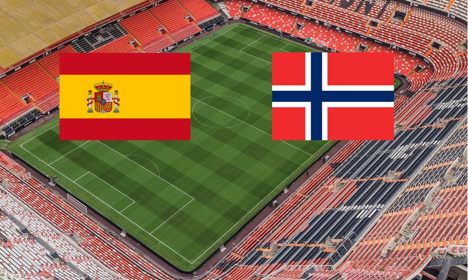 Spania Norge spilltips live stream