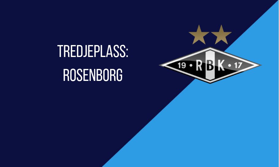 eliteserien tabelltips rosenborg 2019