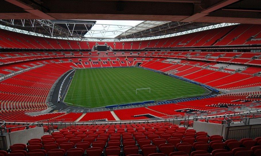 Wembley store stadioner i verden