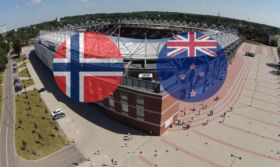 Norge New Zealand spilltips live stream
