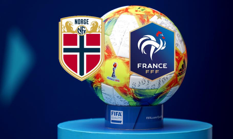 Norge mot Frankrike spilltips live stream